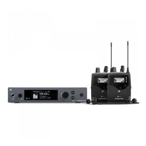 ew iem g4 twin a bezprzewodowy, osobisty 2 kanałowy system monitorowy, pasmo a (516-558 mhz) marki Sennheiser