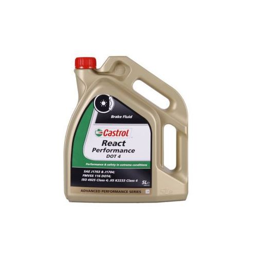 Castrol REACT Performance DOT 4 5 Litr Pojemnik