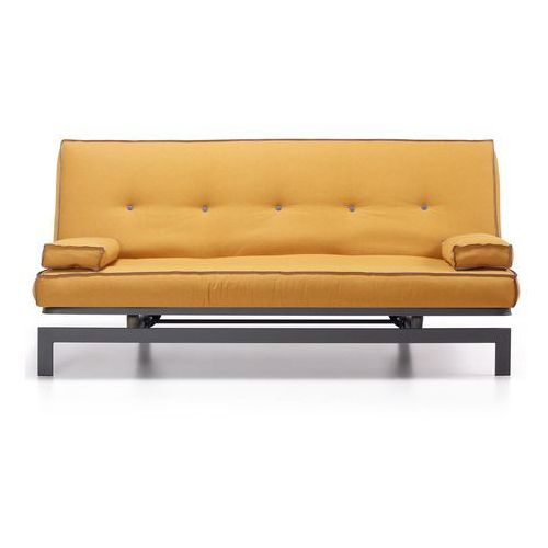 Sofa z funkcją spania chance 195x kolor musztardowy marki 9design