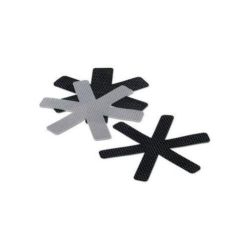 Kela - amparo - przekładki do naczyń, 3 szt., szare/czarne (4025457116520)