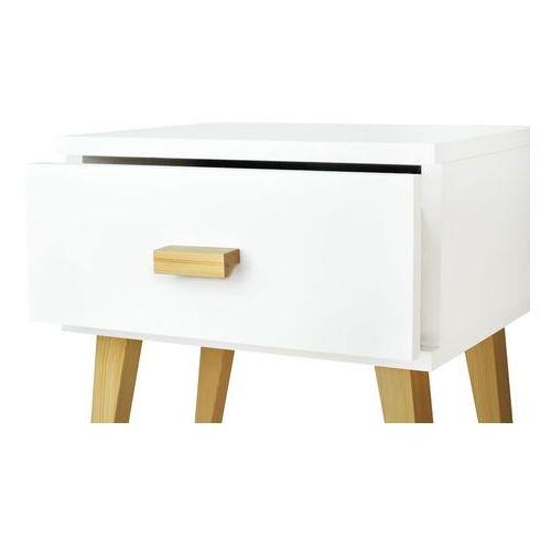Nowoczesna szafka nocna drewniana savona marki Magnat - producent mebli drewnianych i materacy - OKAZJE