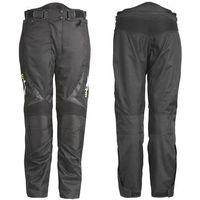 Uniwersalne motocyklowe spodnie mihos, czarny, 3xl marki W-tec