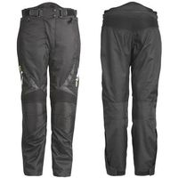 Uniwersalne motocyklowe spodnie W-TEC Mihos, Czarny, S, kolor czarny