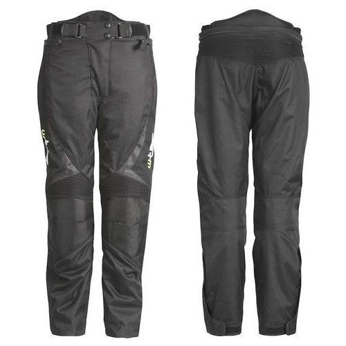 Uniwersalne motocyklowe spodnie mihos, czarny, l marki W-tec