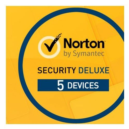 Norton security 2017 deluxe 3.0 1 użytkownik, 5 urządzeń odnowienie marki Symantec