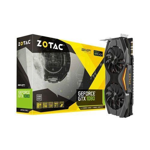 OKAZJA - Karta graficzna Zotac ZOTAC GeForce GTX 1080 AMP! Edition, 8192 MB GDDR5X - ZT-P10800C-10P Darmowy odbiór w 19 miastach! (4895173610011)