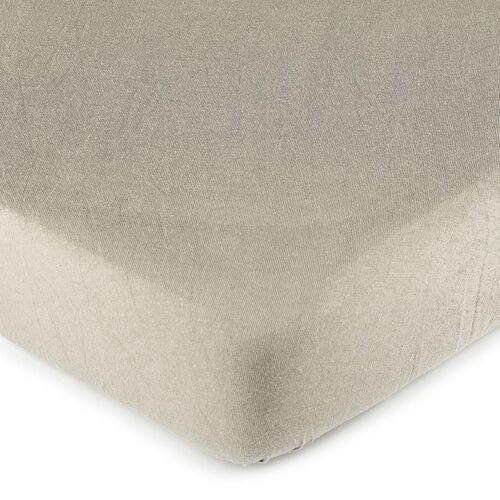 4Home prześcieradło jersey, szare, 140 x 200 cm (8596175014673)
