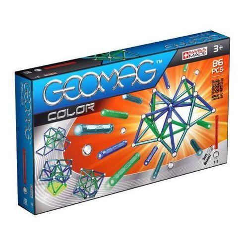 Klocki konstrukcyjne Geomag Color 86 elementów 871772002543