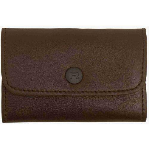 Reell Portfel - essential leather brown (brown) rozmiar: os