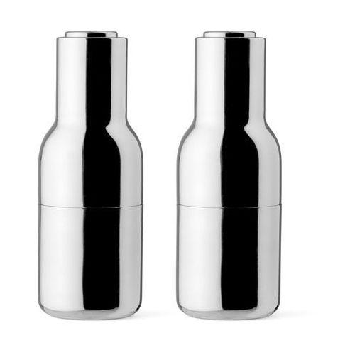 Menu Młynek 2 szt bottle grinder mirror polished steel