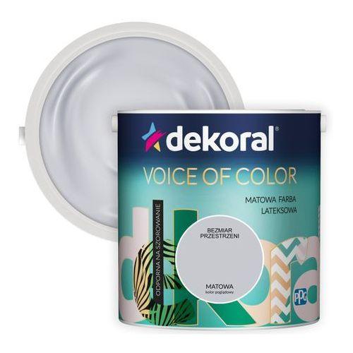 Dekoral Farba voice of color bezmiar przestrzeni 2,5 l (5904000030812)