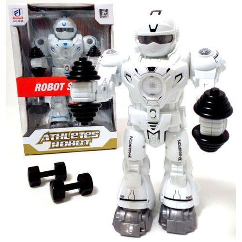 Robot Fitness Interaktywny Ćwiczy i Gra Muzykę
