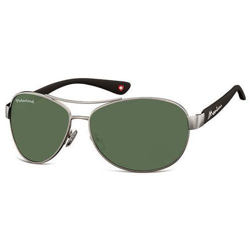 Okulary Słoneczne Montana Collection By SBG MP101 Rutherford Polarized A, kolor żółty
