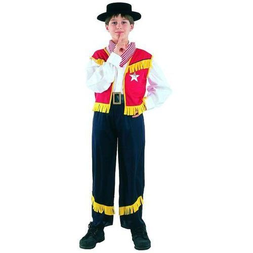 """Godan _xx_strój """"kowboj"""" (spodnie, kamizelka, chusta), rozm. 120/130 cm"""