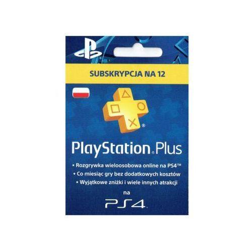 OKAZJA - Playstation plus - abonament na 365 dni marki Sony