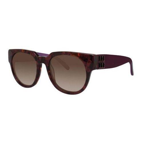 Okulary słoneczne isabetta red tortoise marki Vera wang