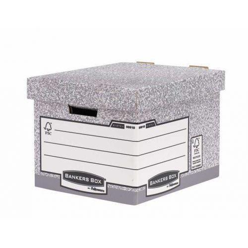 Pudło archiwizacyjne bankers box 00810-ff marki Fellowes