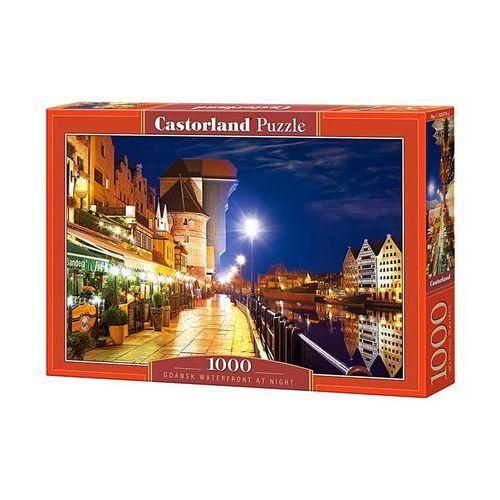 Puzzle 1000 elementów. gdańsk waterfront at night marki Castor