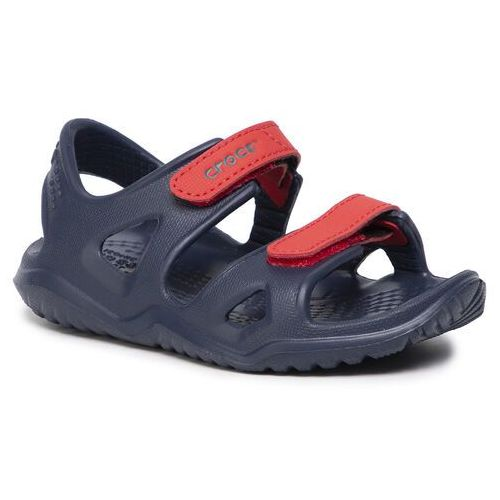 Sandały CROCS - Swiftwater River Sandal K 204988 Blue/Red, kolor niebieski