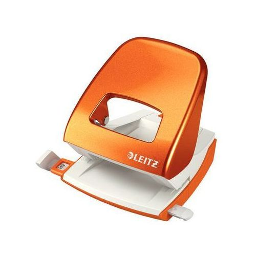 LEITZ Dziurkacz WOW duży 5008, do 30 kartek, metaliczny pomarańczowy