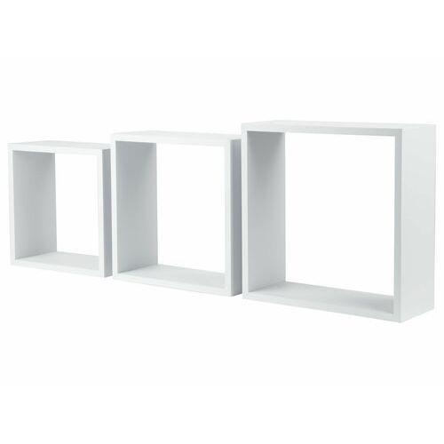 LIVARNOLIVING® Półka kwadratowa, 3 sztuki, 1 zestaw (4056233707267)