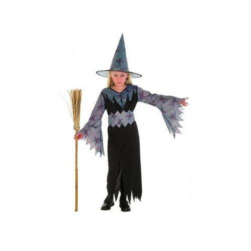 Strój na Halloween Czarownica 7 - 9 lat kostium/ przebranie dla dzieci, odgrywanie ról