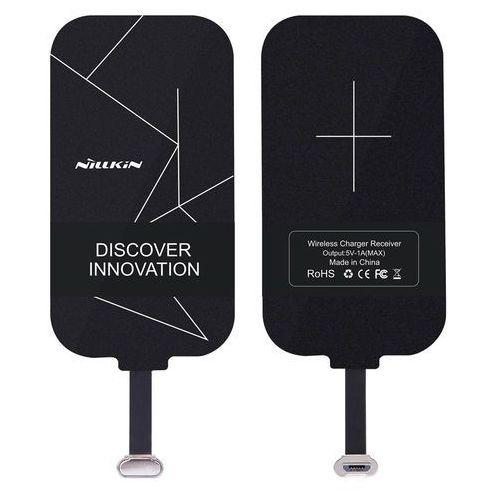 Nillkin Magic Tags odbiornik QI wkładka indukcyjna ze złączem micro USB czarny, 1573-74475_20180307164940