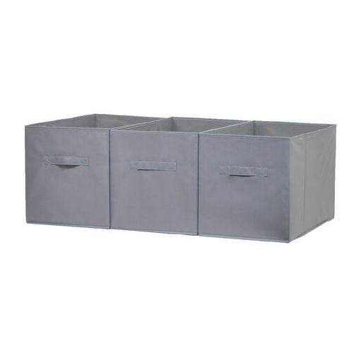 Pudełko 31 x 55 x 33 cm szare 3 szt., JK20PL09S3