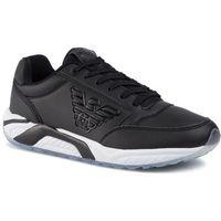 Sneakersy EA7 EMPORIO ARMANI - X8X022 XK116 00002 Black, kolor czarny