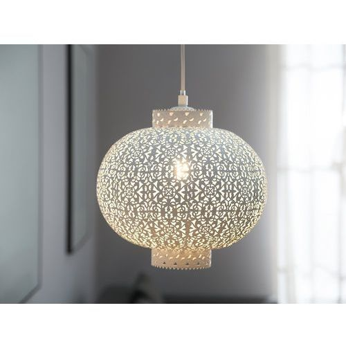 Lampa wisząca biała MEUSE (4260586353211)