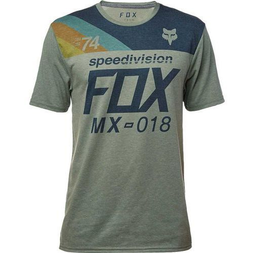 koszulka FOX - Accordingly Ss Tech Tee Heather Dark Fatigue (183) rozmiar: S