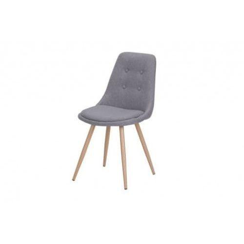 Krzesło tapicerowane tkanina szare big 016 dostawa 0zł marki Big meble