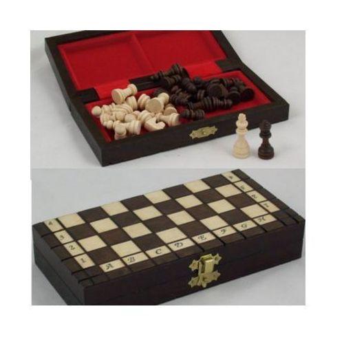 Filipek drewniane szachy podróżne (5907180640208)