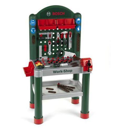 KLEIN BOSCH mini Stół warsztatowy z 75 akcesoriami (4009847083203)