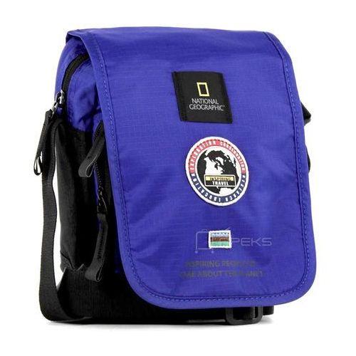 National Geographic EXPLORER mała torba / saszetka na ramię / N01105.45 - niebieski (4006268609111)