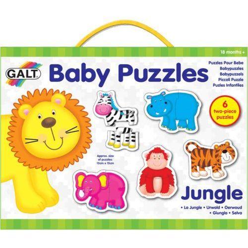 puzzle dla najmłodszych – zwierzątka w dżungli 2 wyprodukowany przez Galt