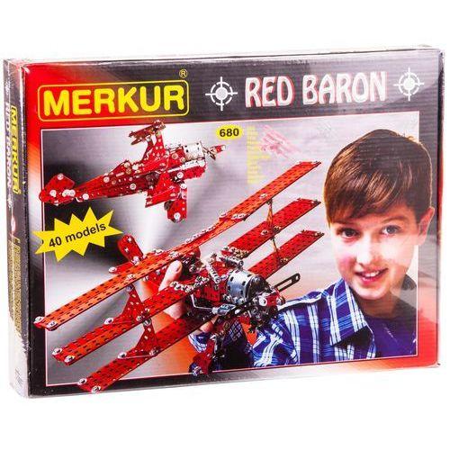 Merkur Red Baron 40 modeli 680sztuk - BEZPŁATNY ODBIÓR: WROCŁAW!