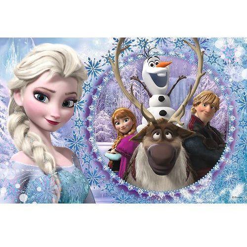 Trefl Przyjeciele z krainy lodu kraina lodu puzzle 60 (5900511172751)