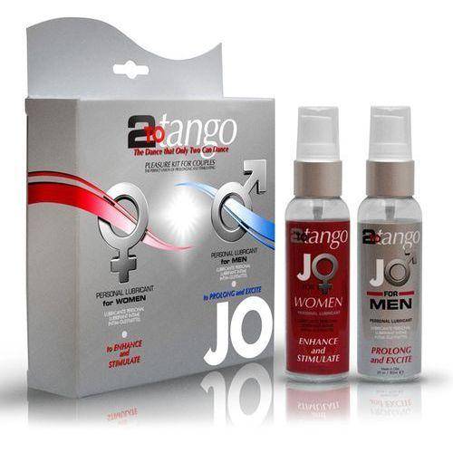 SexShop - Zestaw lubrykantów dla par - System JO 2-To-Tango Couples Kit - online z kategorii pozostała erotyka