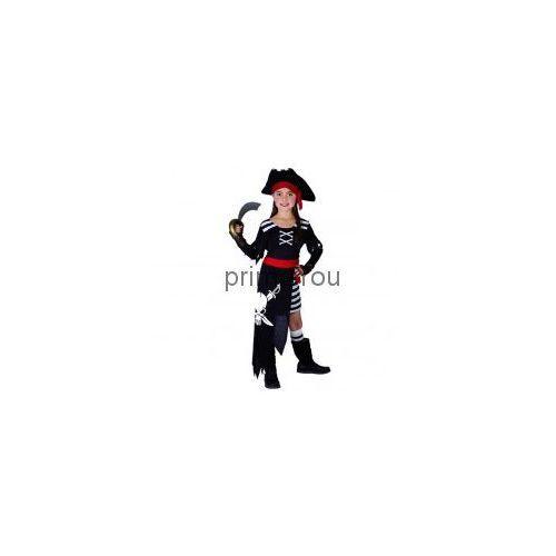 Strój Piratka z czaszką rozmiar 110-120cm - sprawdź w wybranym sklepie
