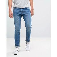 friday skinny jeans cricket blue wash - blue marki Weekday