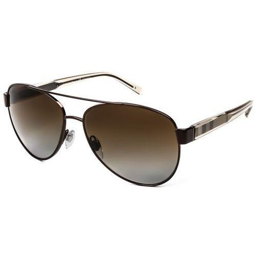 Burberry Okulary słoneczne be3084 check polarized 1212t5