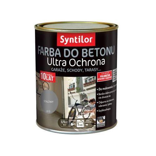 Syntilor Farba do betonu ultra ochrona 0.75 l stalowy (3239913642329)