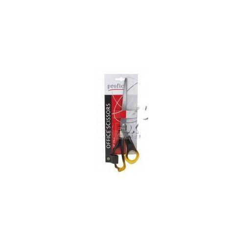 Nożyczki bursztynowe biurowe PROFICE 25 cm, P413