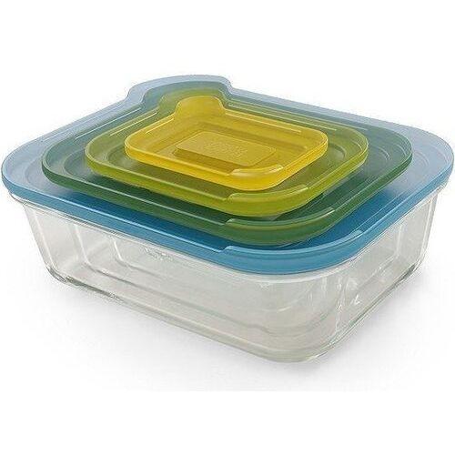 Pojemniki kuchenne nest glass storage 4 szt., 81060