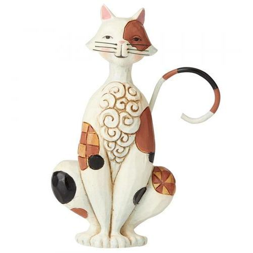 Mały kotek spotted mini cat 6003982 marki Jim shore