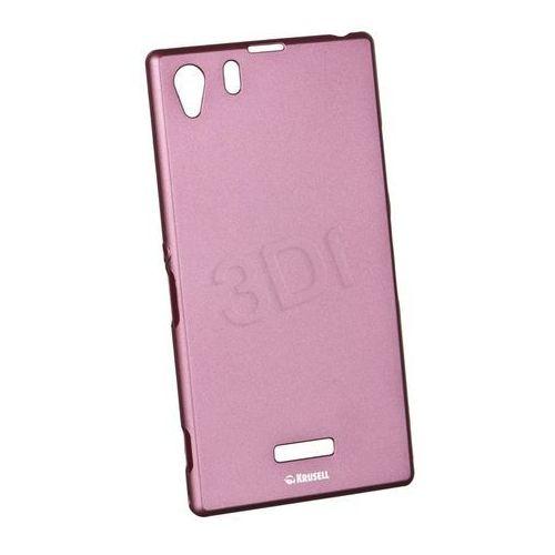 Krusell Sony Xperia Z1 ColoCover Pink (Futerał telefoniczny)