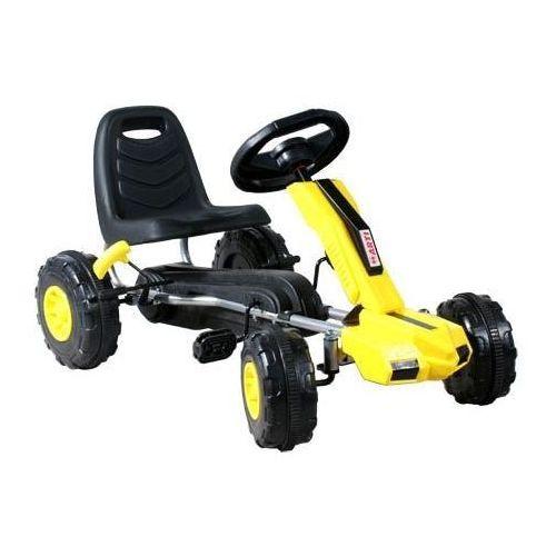 Gokart dziecięcy  buggy xt gm48 żółty - żółty marki Arti