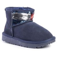 Buty TOMMY HILFIGER - Fur Boot T3A6-30471-0737 M Blue 800