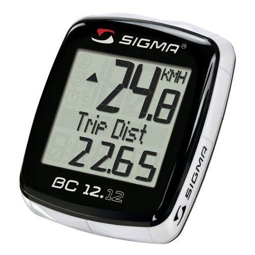 02120 Licznik rowerowy SIGMA BC 12.12 przewodowy, PL Menu, z termometrem, T-SIG-02120